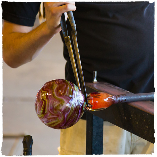IAS glass blower