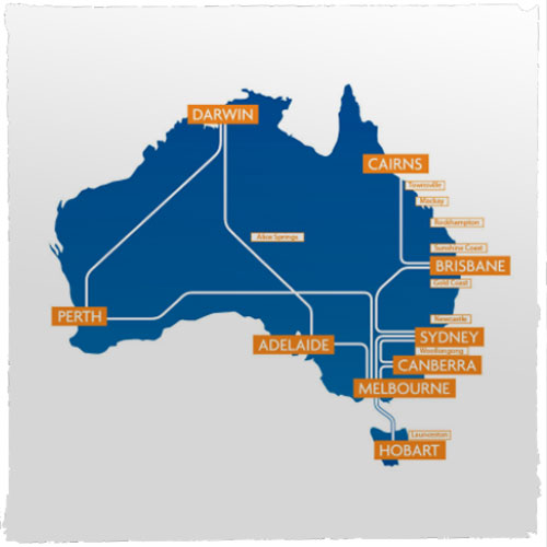 IAS domestic art shuttle routes Australia
