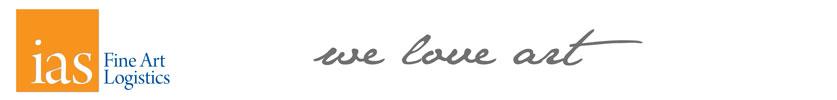 ias fine art logistics Logo