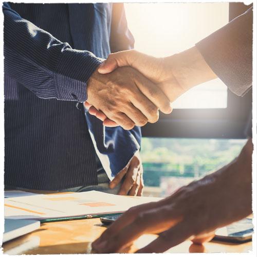 ias logistics partner handshake