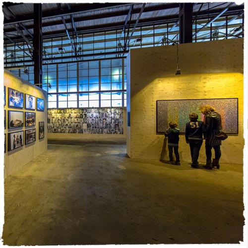 touring art exhibition (IAS)
